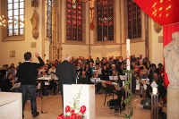 Ökumenischer Gottesdienst aller Dülmener Kirchengemeinden am Pfingsmontag 2013