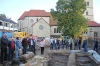 Besichtigung der archäologischen Grabungen mit dem KV St. Viktor